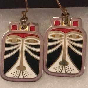 "Laurel Burch ""Tushio"" earrings"